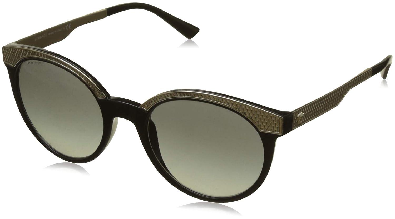 223c19a32fdd Amazon.com: Versace Womens Metal Mesh Collection Sunglasses (VE4330)  Black/Grey Plastic,Nylon - Non-Polarized - 53mm: Versace: Clothing