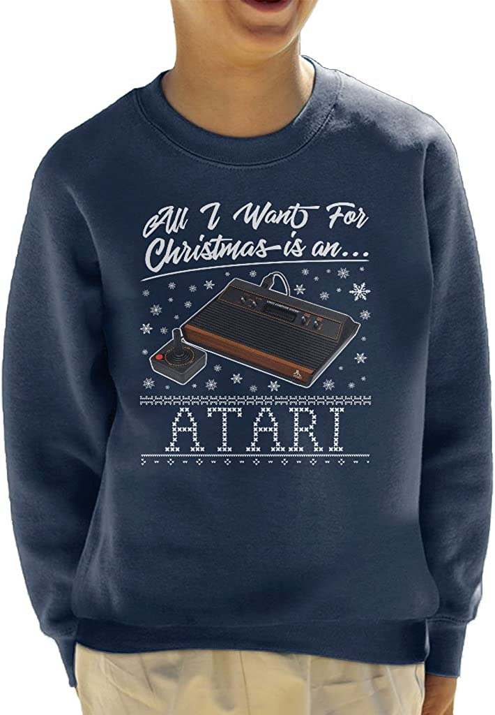 All I Want for Christmas is an Atari Kids Sweatshirt