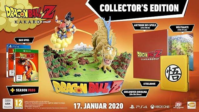 Dragon Ball Z: Kakarot - Edición Coleccionista: Amazon.es: Videojuegos