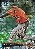 2017 Bowman Chrome Mega Box Prospects Refractors #BCP137 Jomar Reyes Baseball Card
