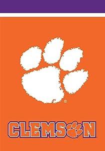 "Briarwood Lane Clemson Tigers Garden Flag NCAA Licensed 12.5"" x 18"""