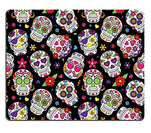 Day Of The Dead Images Costumes (Luxlady Gaming Mousepad IMAGE ID: 36626870 Day of the Dead Sugar Skull Seamless Vector Background)