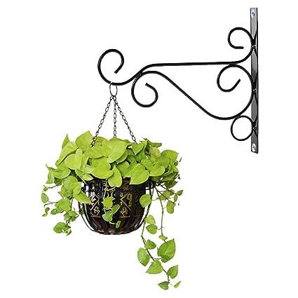 Superieur 10u0026quot;x 8u0026quot; Indoor Outdoor Metal Iron Wall Brackets,Garden Hanging  Plant Hooks
