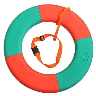 GEXING Bubble - Anello di Salvataggio Gonfiabile per Piscina Professionale, Orangegreen, 60cm