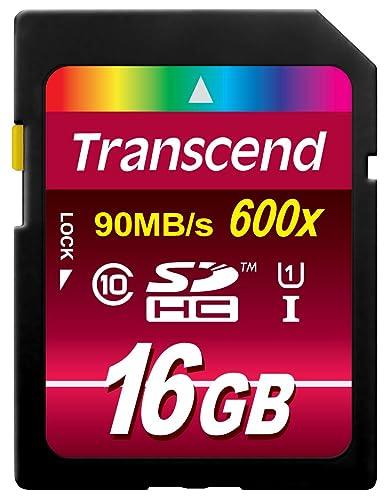 【Amazon.co.jp限定】TranscendSDHCカード16GBClass10UHS-I対応(最大転送速度90MB/s)無期限保証TS16GSDHC10U1E(FFP)