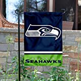 WinCraft Seattle Seahawks Double Sided Garden Flag