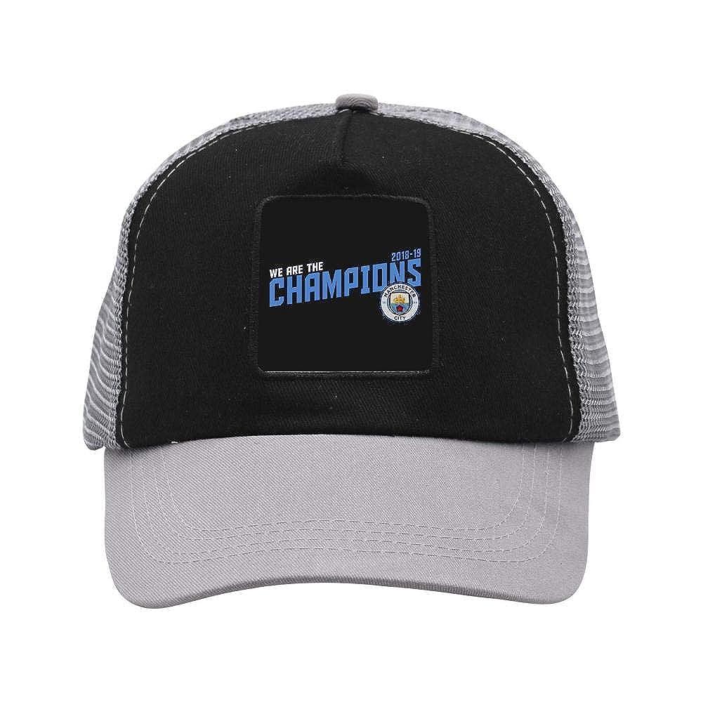 dbd4cd285 Man-Chester City F.C. Cap Hat Twill Mesh Cool Adjustable Unisex Caps ...