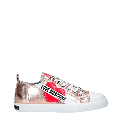 24ee3466bb99 Amazon.com  Love Moschino Women Pink Sneakers  Shoes