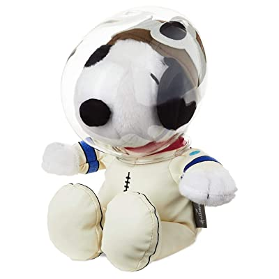 Hallmark HMK Peanuts Astronaut Snoopy Stuffed Animal: Toys & Games