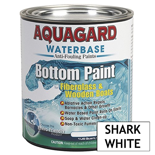Aquagard Waterbased Anti-Fouling Bottom Paint - 1Qt - Shark White by Aquagard