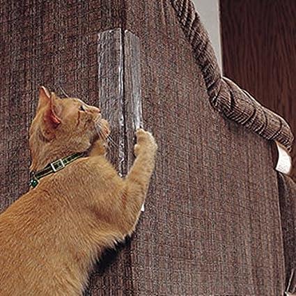 Sorliva - Juego de 2 protectores de esquina para gatos, no necesitan alfileres para rascar