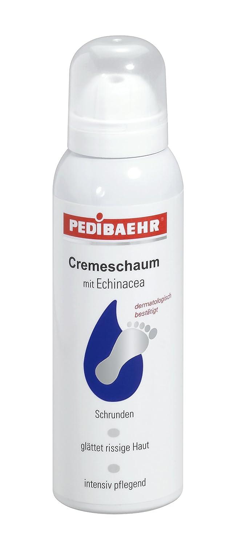 PEDIBAEHR -Cremeschaum Schrunden mit Echinacea, 15% Urea und 1% Salicylsäure, 125ml