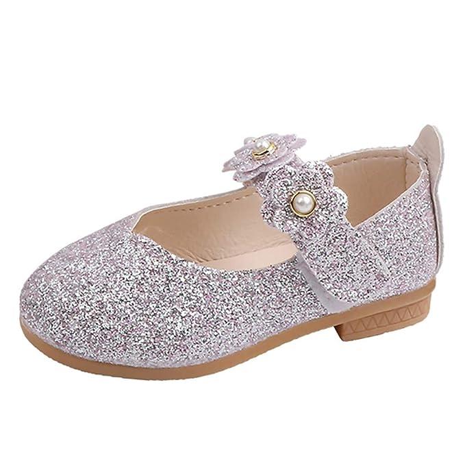 Amazon.com: LNGRY Zapatos para bebé, para niños, niñas ...