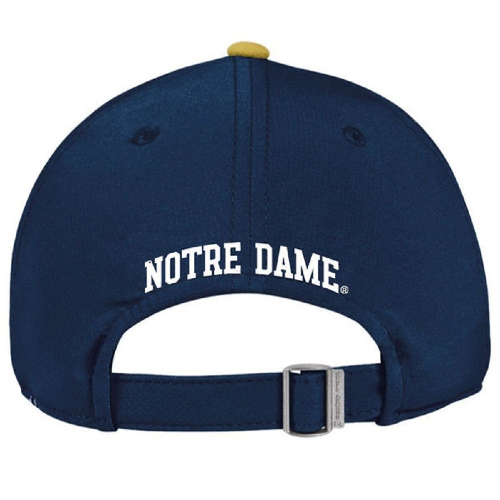 buy online 90b27 fd336 Amazon.com   Under Armour Notre Dame Fighting Irish 2016 Blue Sideline Hat    Sports   Outdoors