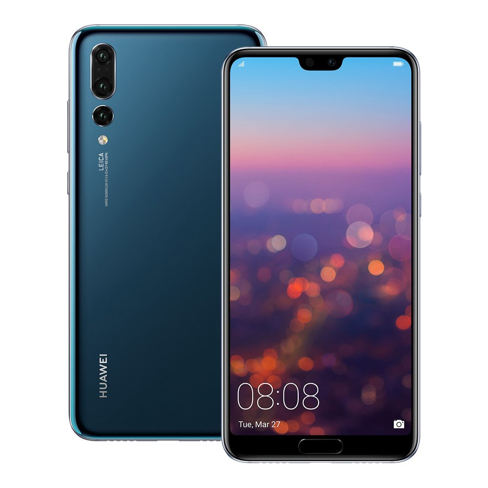 Amazon.com  Huawei P20 Pro (CLT-L29) 6GB   128GB 6.1-inches LTE Dual SIM  Factory Unlocked - International Stock No Warranty (Midnight Blue)  Cell  Phones   ... 82dfa096540