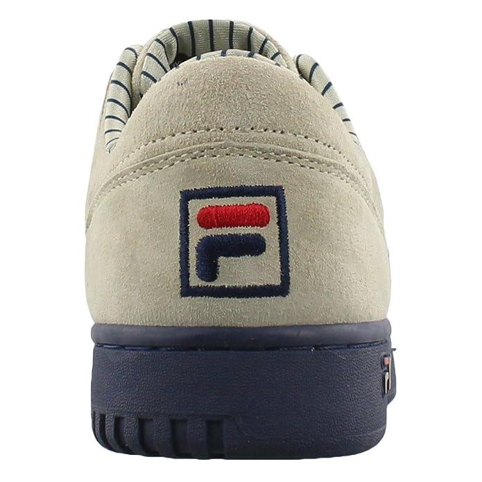 91335fa88dfc Fila Kids Original Fitness Low Pinstr Gradeschool Shoes - 7Y  Amazon.co.uk   Shoes   Bags