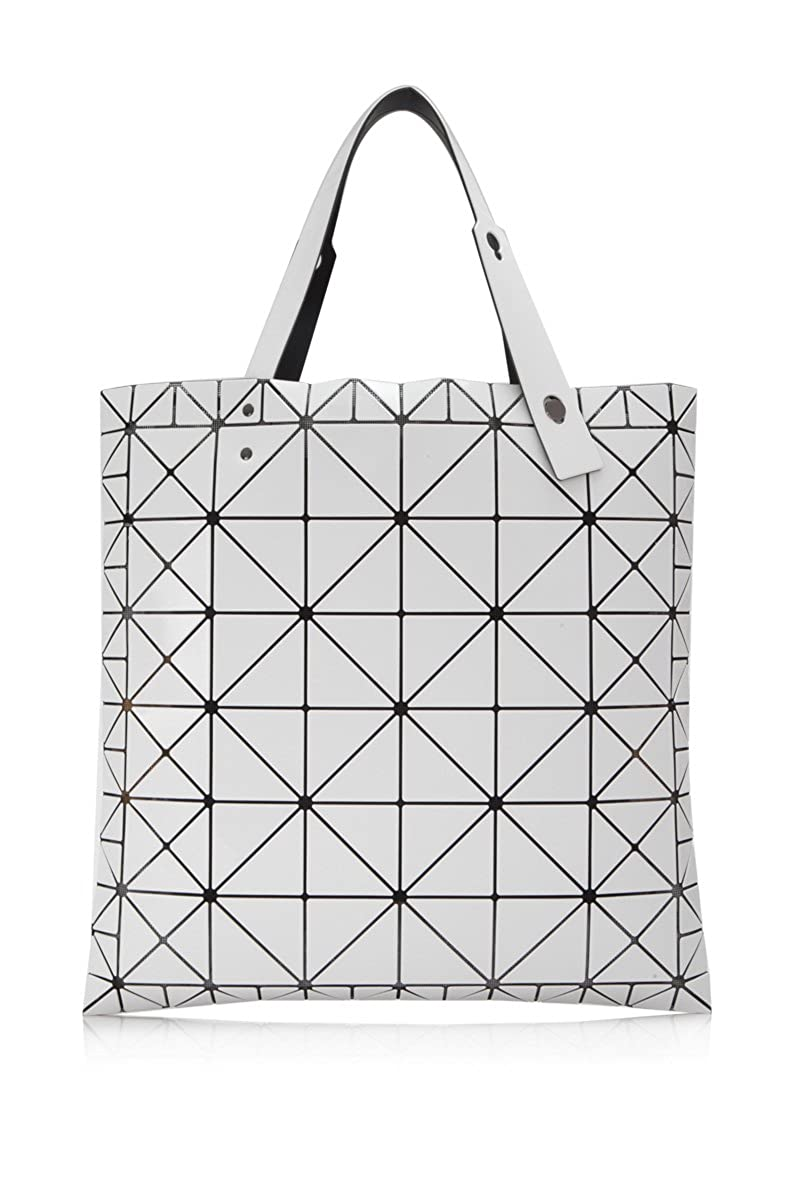bb13b7eba5 Amazon.com  Bao Bao By Issey Miyake Specialty Ratio Tote White  Clothing