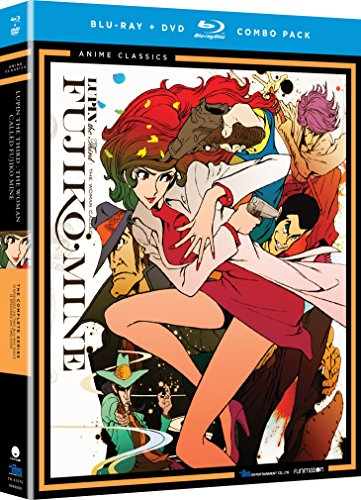 Lupin III: The Woman Named Fujiko Mine - The Complete Series Classic (Blu-ray/DVD Combo)