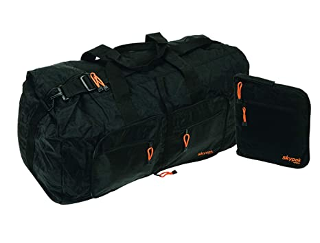 Image Unavailable. Image not available for. Color  SkyFlite Skypak Large  90L Folding Travel Duffle Bag c942fde190a