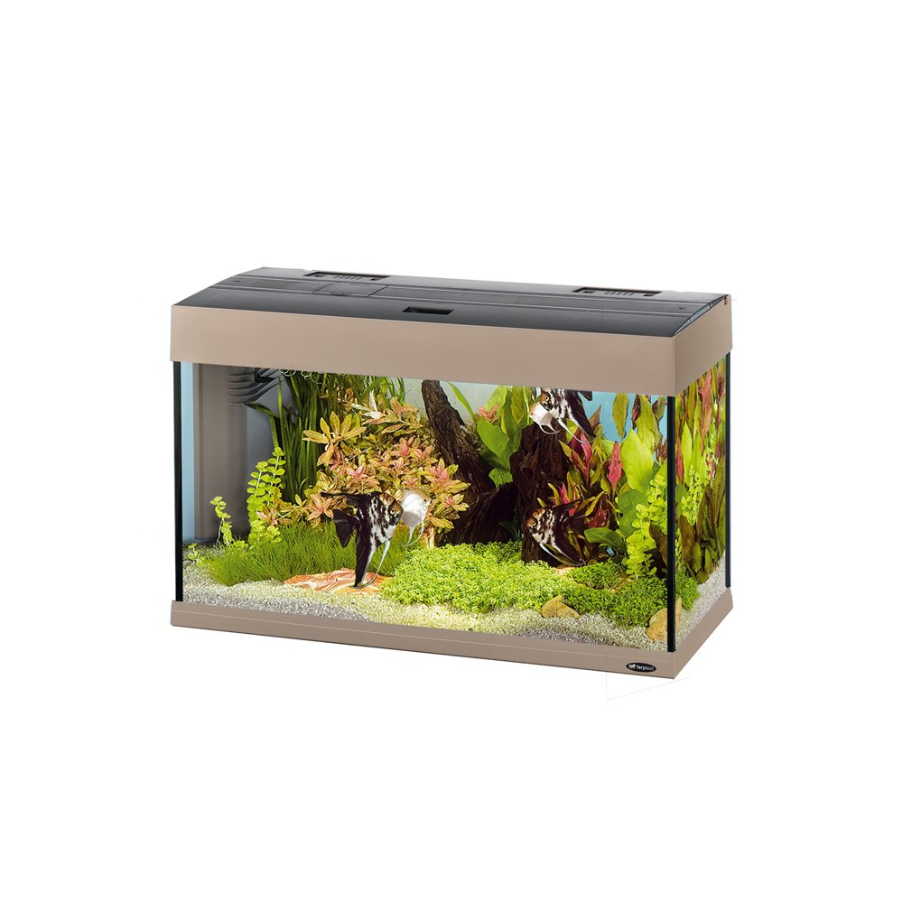 ferplast 65034006 aquarium dubai 80 ma e 81 x 36 x 51 cm 125 liter grau jetzt kaufen. Black Bedroom Furniture Sets. Home Design Ideas