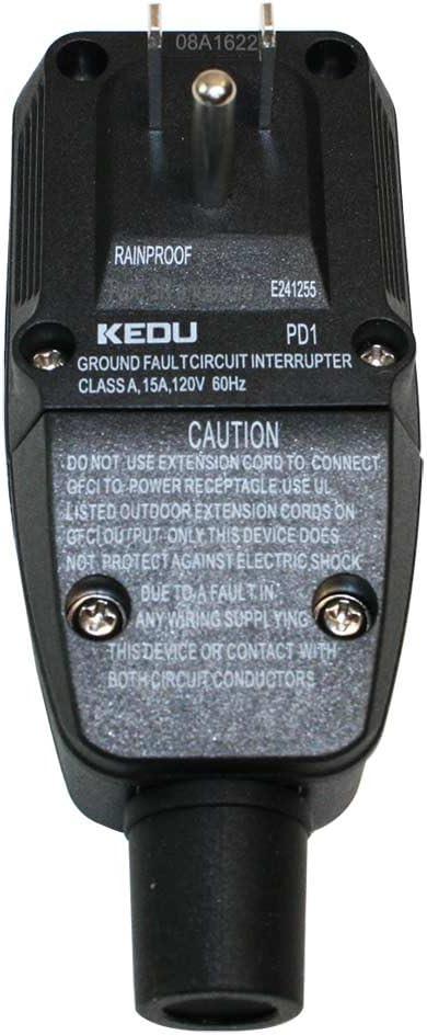 Superior Electric SE 5000 GFCI 15 Amp 3 Prong Plug Nema 5-15P