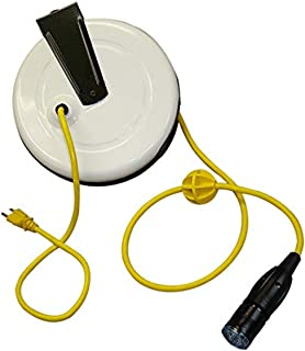product image for Saf-T-Lite 2640-5001 Power Supply Reel with Saf-T-Lok Outlet, 40ft Cord
