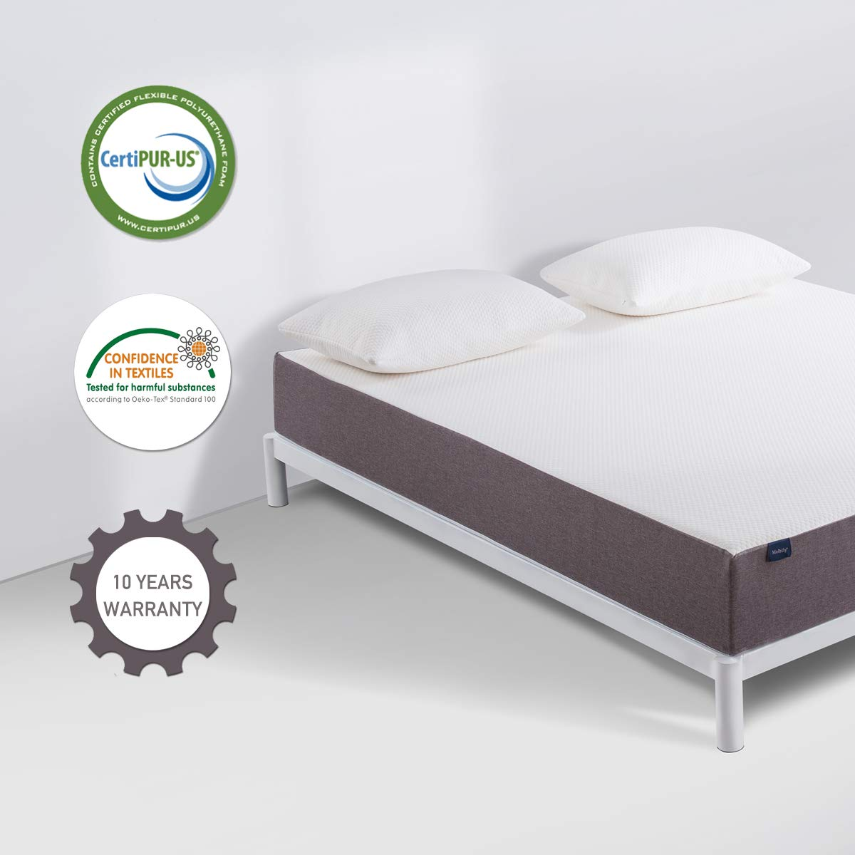 Amazon.com - Twin Mattress, Molblly 8 Inch Memory Foam Mattress in a Box, Breathable Bed Mattress with CertiPUR-US Certified Foam for Sleep Supportive ...