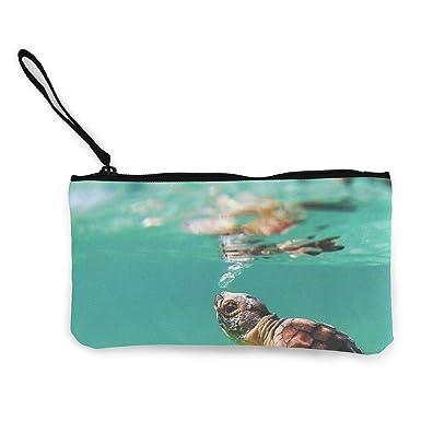 Amazon.com: Turtle Baby Under Sea Ocean Turquoise - Bolso de ...