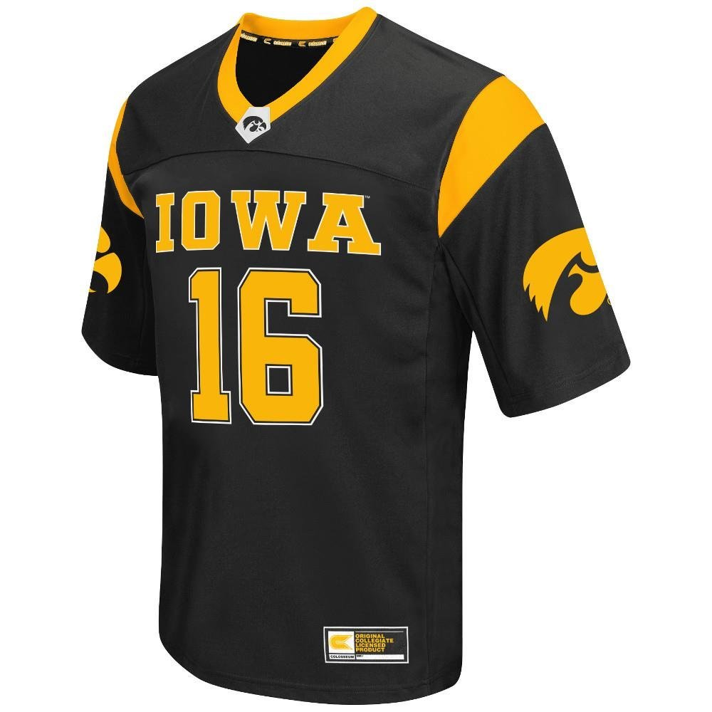 Mens NCAA Iowa Hawkeyes Football Jersey (Team Color)
