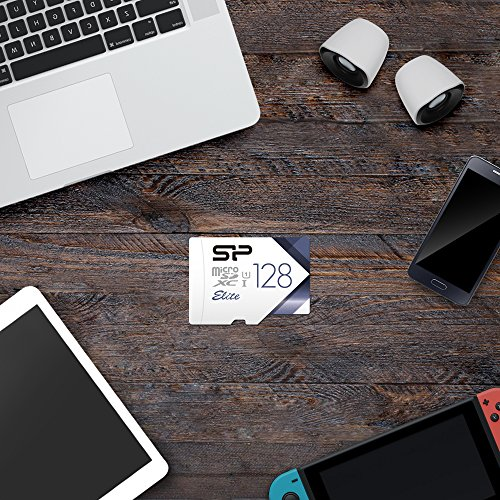 Silicon Power-128GB High Speed MicroSD Card with Adapter by SP Silicon Power (Image #6)'