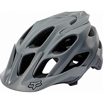 Casco Btt Fox 2017 Flux Solids Gris (L/Xl , Gris)