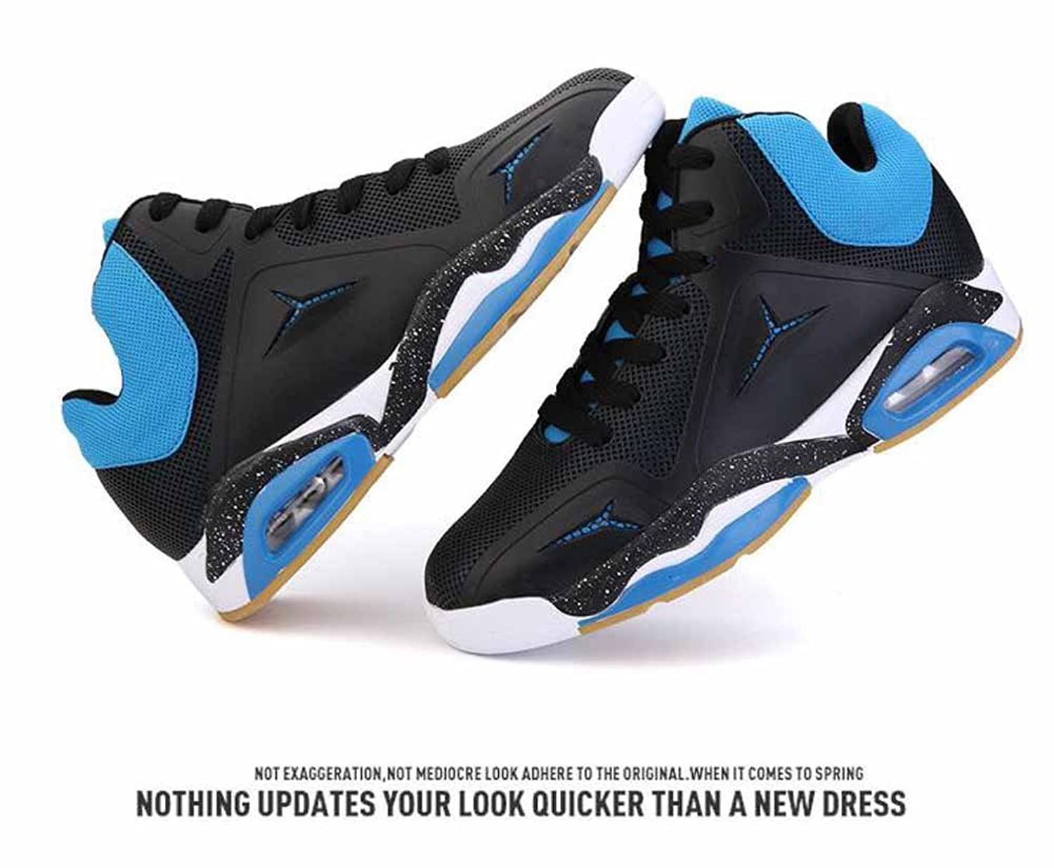 Men Breathable Basketball Shoes 2017 Autumn New Shock Fashion Youth Outdoor  Sports Shoes: Amazon.co.uk: Shoes & Bags