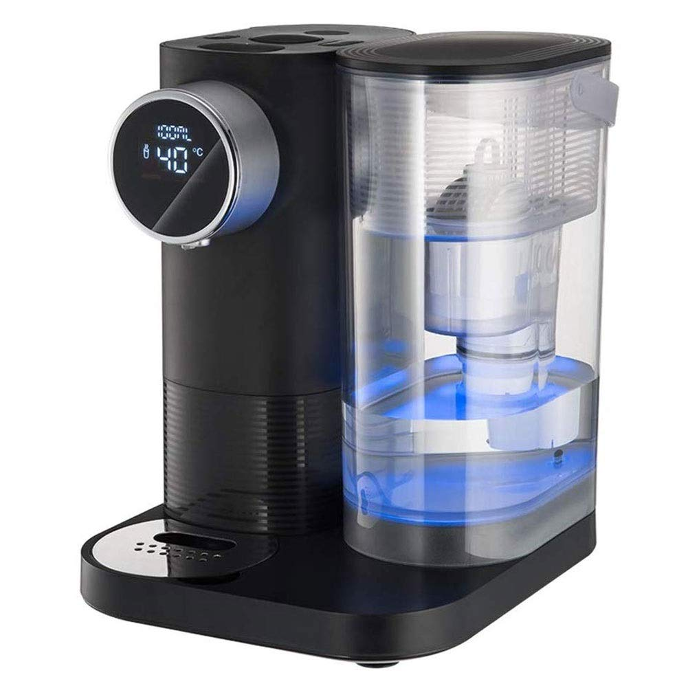 CHENJIU Hot Water Dispenser Instant Kettle/Catering Urn Black 4L Variable Temperature - Fast Boiling Water - Easy Pour Machine by CHENJIU
