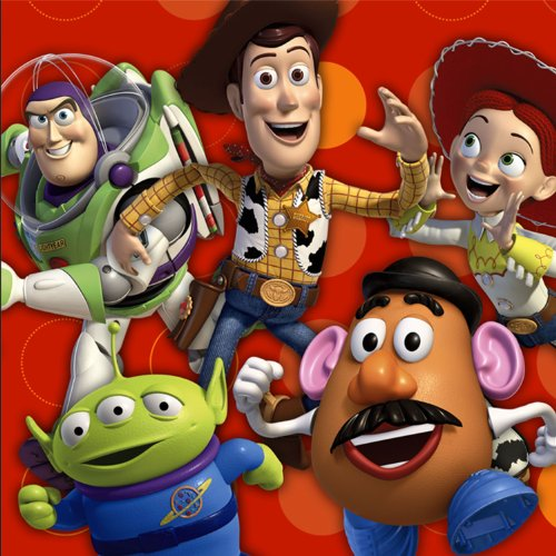 Toy Story 3 – 3D Lunch Napkins (16 count), Health Care Stuffs