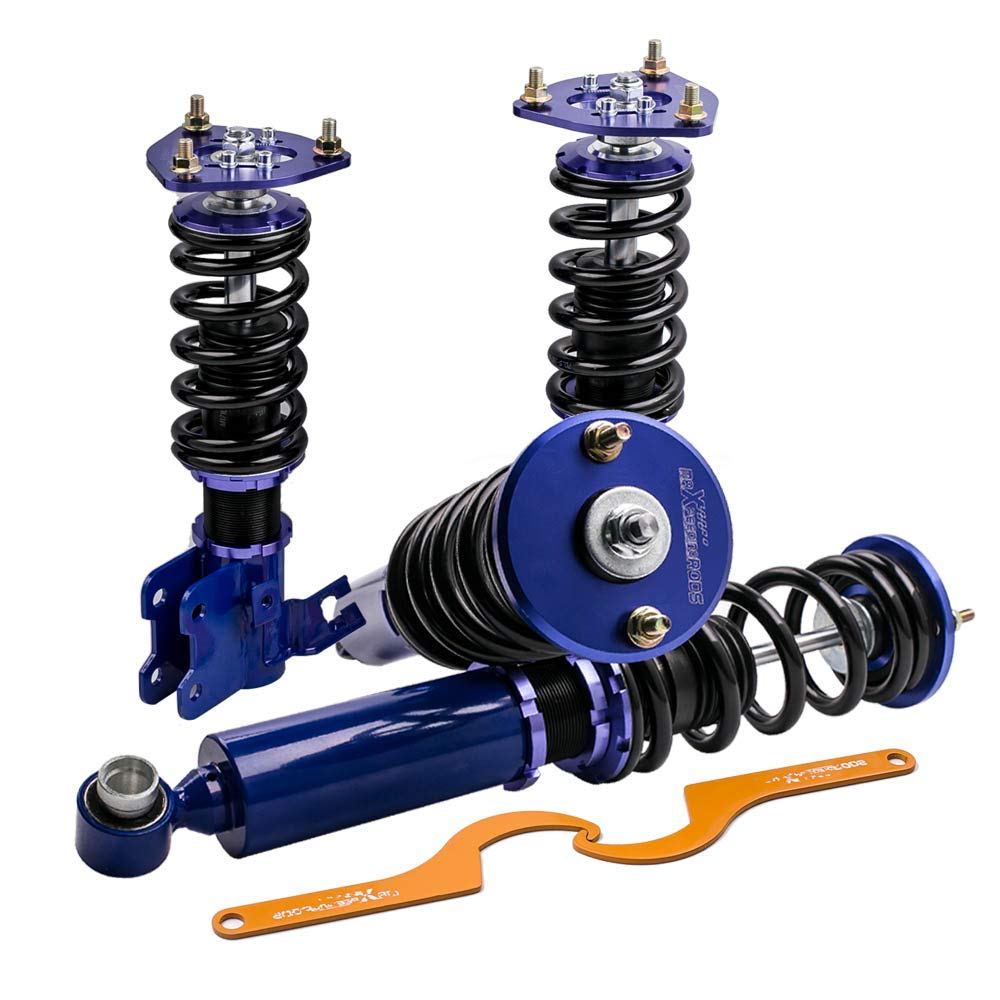 Height Blue Coilovers Kits Fit Nissan 240SX S13 Hatchback//Coupe 89-94 Adj