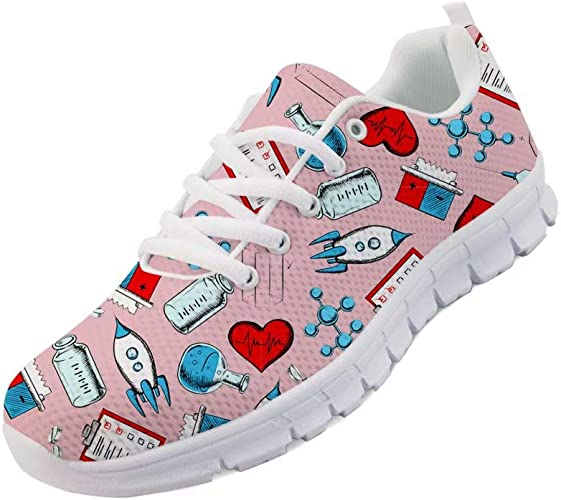 Medical Pattern Running Shoes