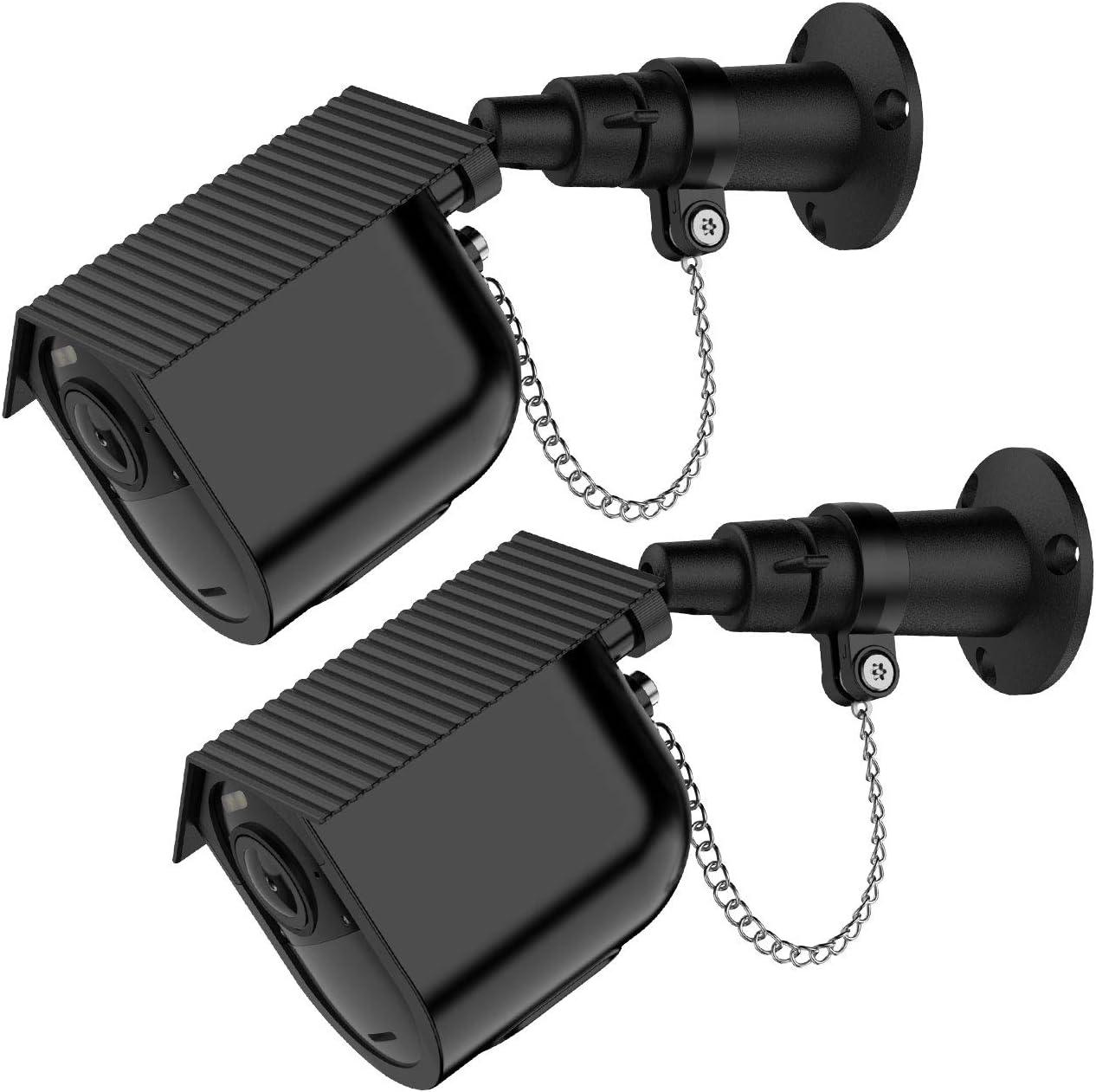 l/éger et durable en silicone pour Arlo Essential Camera HOLACA Lot de 3 coques en silicone compatibles avec Arlo Essential Wireless Home Security Camera System Imperm/éable /à leau Noir
