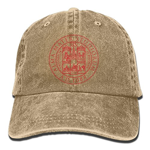 Richard Alma Mater Studiorum Camisia Unisex Cotton Washed Denim Leisure Caps Adjustable - Shopping Pittsburgh Near