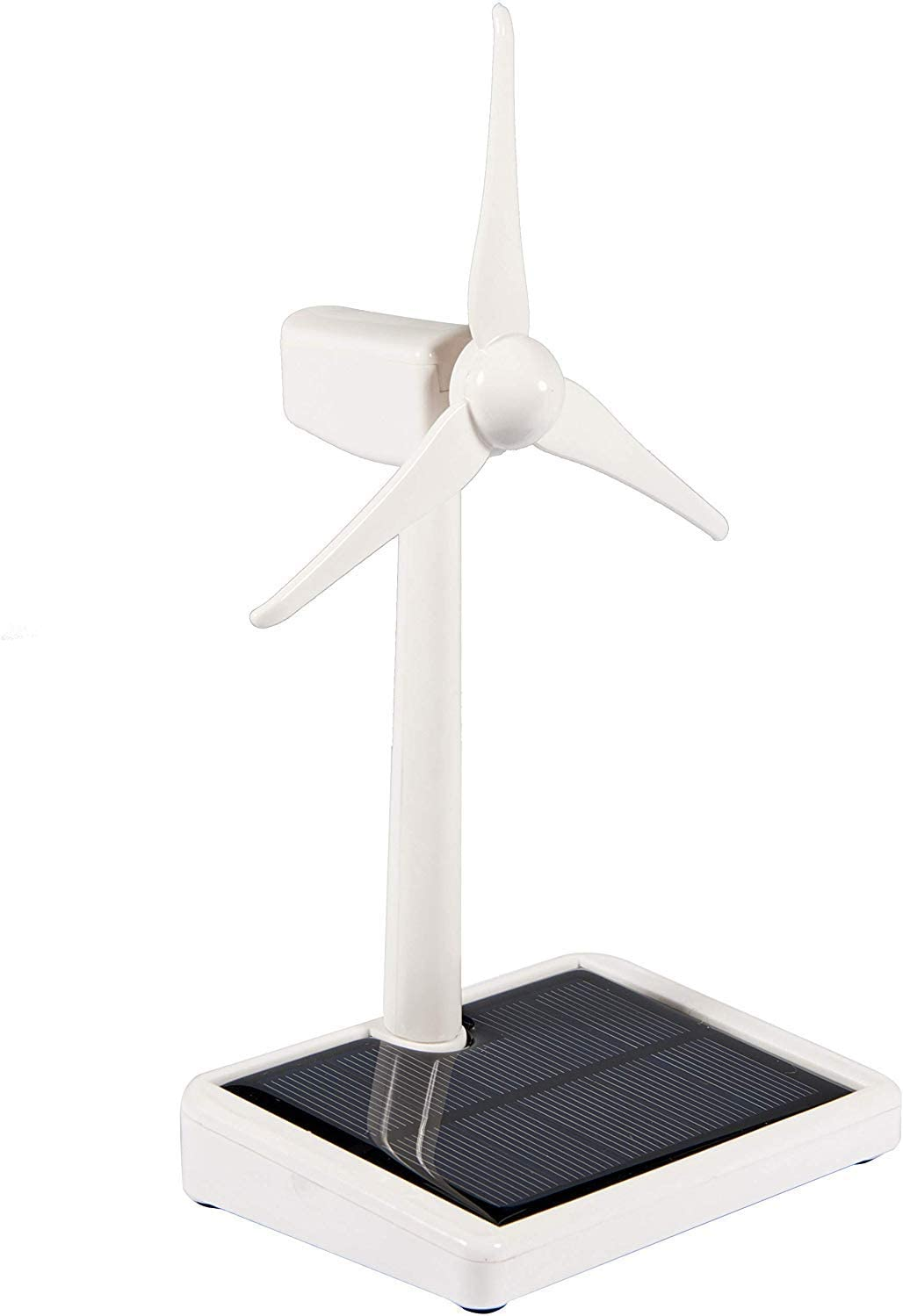 Solar Powered Windmill Mini Solar Energy Windmill Toy Solar Windmill Toy Kids Desktop Decoration for Gifts Kids Friends