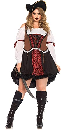 Pirate Wench Adult Womens Plus Size Costume HALLOWEEN