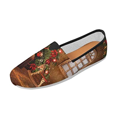 INTERESTPRINT Classics Women s Slip On Loafer Shoes Children s Room with to  ... 76769ba147