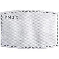 Janedream 2 Unidades/Paquete de Filtro de carbón Activado N95 eficaz filtración PM2.5 antiempañamiento máscara bucal de Repuesto