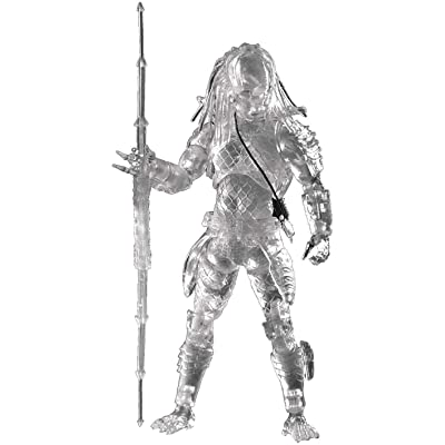 "Hiya Toys Predator 2: Invisible City Hunter Prdator 1: 18 Scale 4"" Acton Figure: Toys & Games"