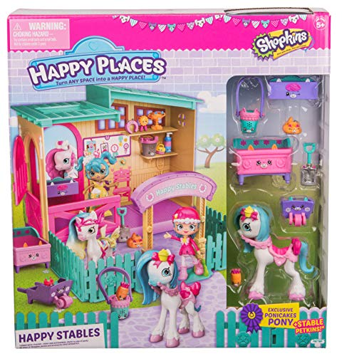 Shopkins Happy Places Happy Stables Playset by Shopkins