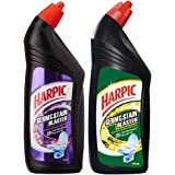 Harpic Germ and Stain Blaster, 750ml (Floral) and Harpic Germ and Stain Blaster, 750ml (Citrus)