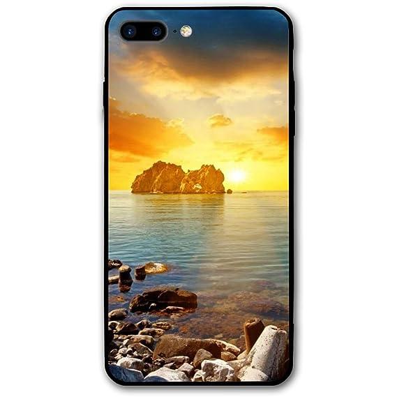 Amazon Com Beach Sunset Wallpapers Iphone 8 Plus Shell Full