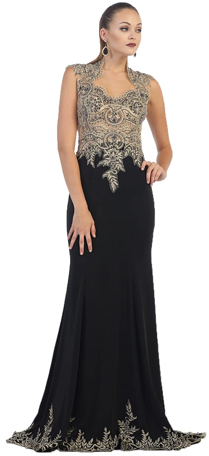 Royal Queen RQ7440 Stretchy Prom Queen Dress at Amazon Womens Clothing store: