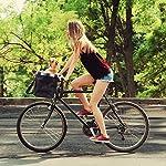 MAIGG-Cestino-per-Bici-Trasportino-per-Cani-da-Compagnia-Cestini-Anteriori-per-Mountain-Bike-Borse-per-la-Spesa-con-Cinture-di-Sicurezza-Pieghevole-Facile-da-Installare-per-Donna