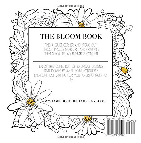 Amazon The Bloom Book Create Color Adult Coloring 9781512271690