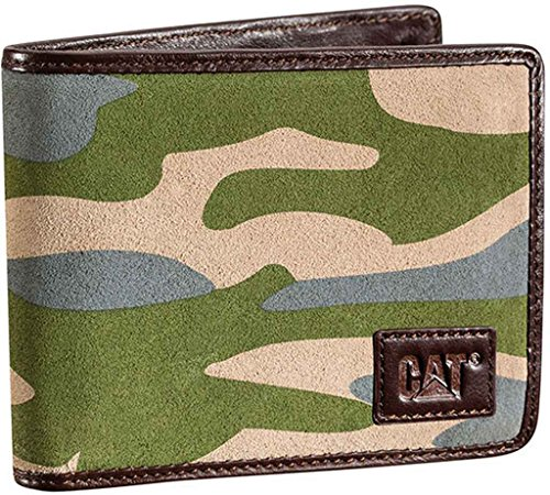 CAT Apparel 83138 Men's Zodiaq Wallet Camouflage One Size (Mens Wallets Caterpillar)